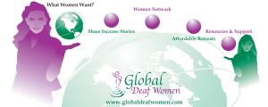 Global Deaf Women Banner